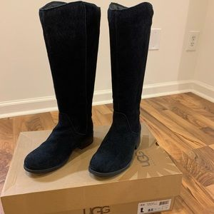 Ugg women's tall seldon suede boots